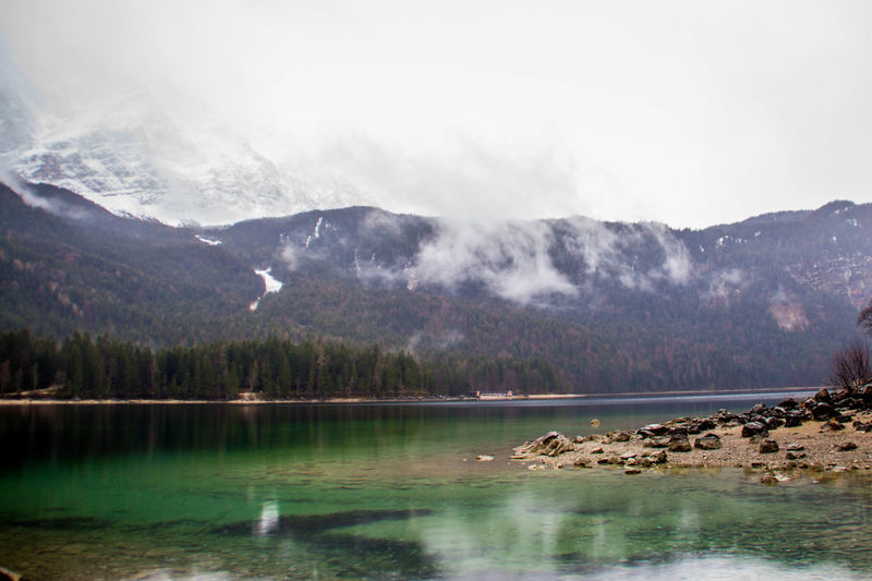 Water Mountain Lake Scenics - Nature Reflection No People Beauty In Nature Tree Nature Tranquil Scene Tranquility Environment Landscape Day Sky Wilderness Travel Destinations Mountain Range Outdoors Mountain Peak