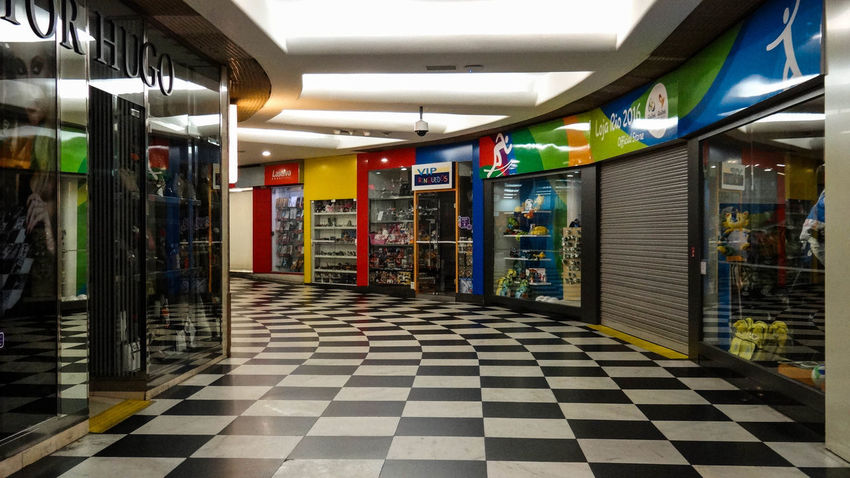 ezefer Congonhas The Graphic City Architecture Day Empty Illuminated Indoors  Multi Colored No People Store
