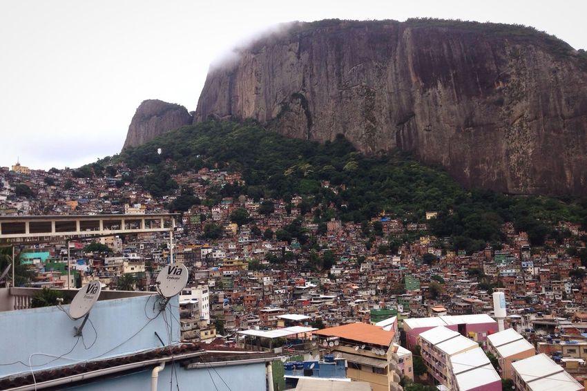 Architecture Outdoors Built Structure Mountain Cityscape Scenics Lifestyles Streetphotography Rio De Janeiro Favela Favela Rocinha Favela Houses Brazil Slum Urban Landscape Urban Architecture