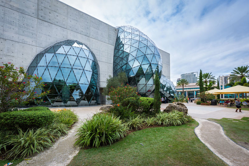 Salvador Dali Salvador Dali Museum Stpetersburg St Petersburg Florida Architecture_collection Beautiful Buildings Natgeotravel Huffpostgram Seeing The Sights Check This Out The Architect - 2016 EyeEm Awards