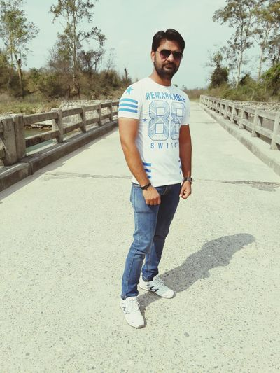 Sameer Looking At Camera Portrait Beard Only Men Confidence  One Person One Man Only Young Adult Adults Only Casual Clothing One Young Man Only Men Attitude Lifestyles Standing Front View Real People Adult People Smiling First Eyeem Photo