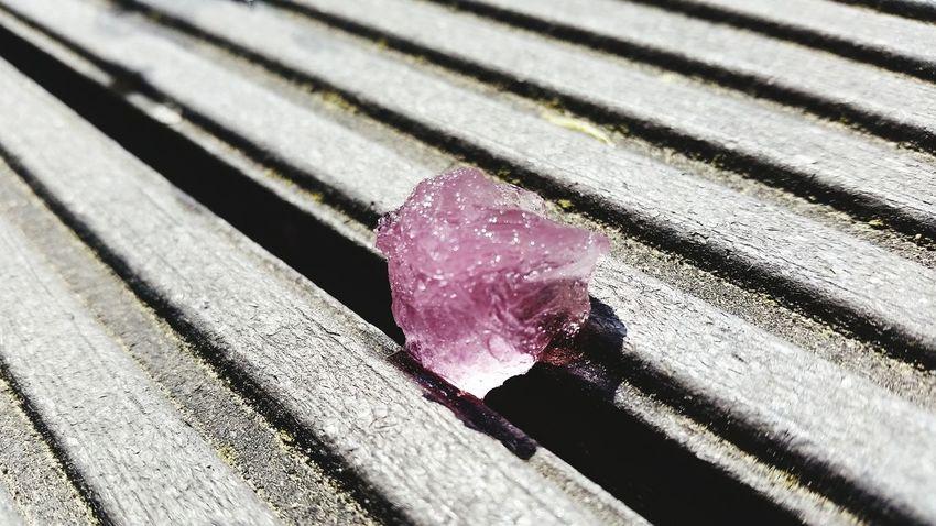 Waterice Pink Cristal Clear Sunny Day NiceShot Wassereis Kratzeis Taking Photos