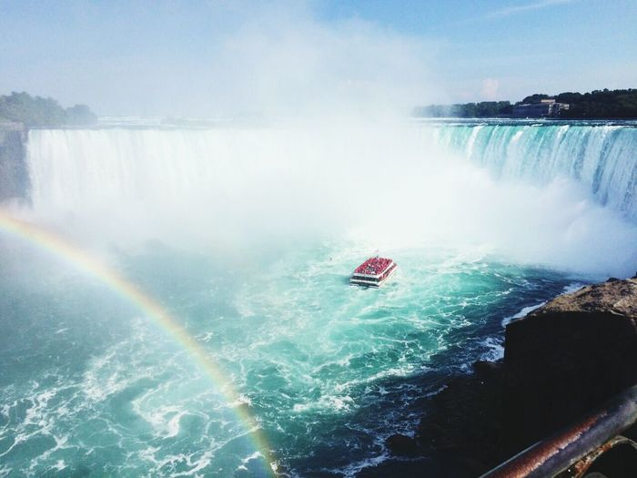 Niagara Falls Rainbow Niagara Open Edit EyeEm Nature Lover Waterfall_collection Eye4photography  Niagrafalls Taking Photo Trip