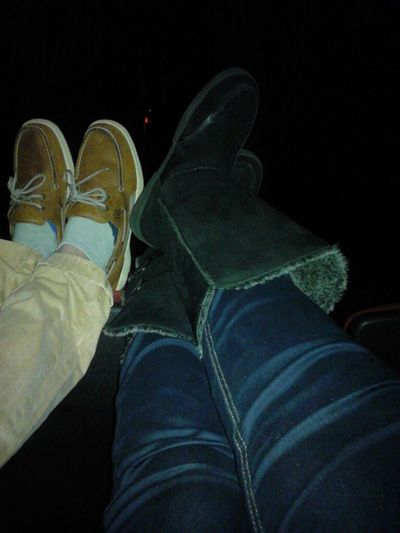 Chilling With My Love Muffin At The Movies! !