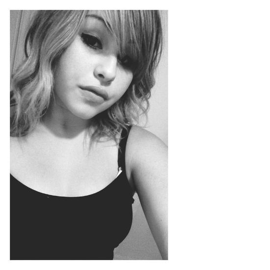 Selfie :) Black&white