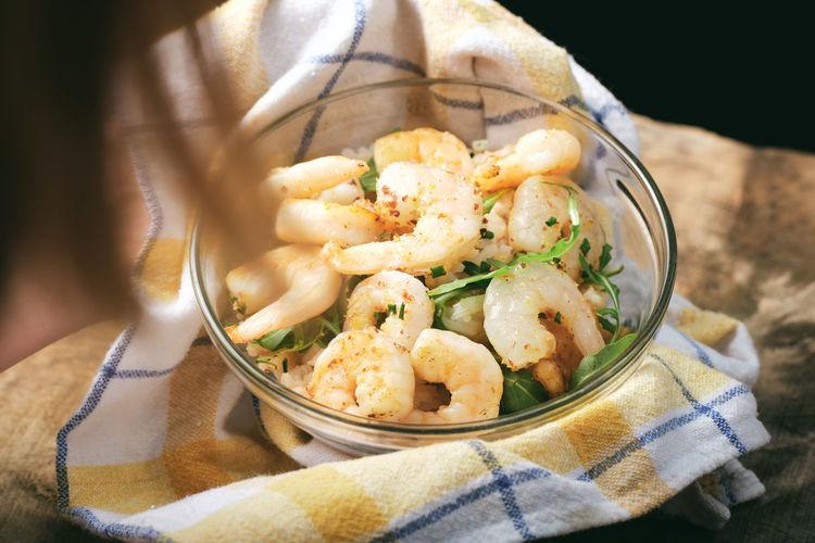 Tasty shrimps