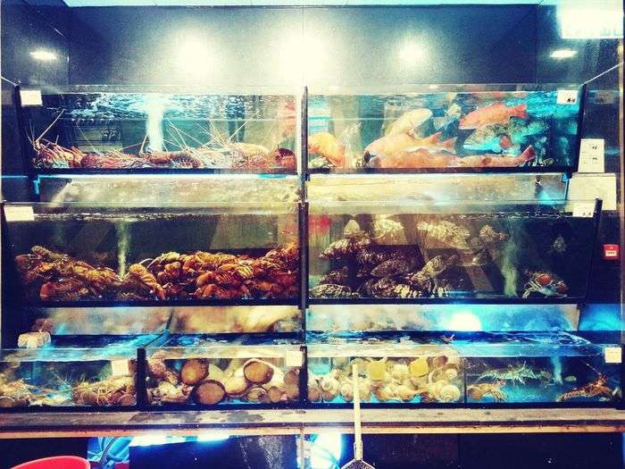 Chinese Food HK Food Seafood fresh