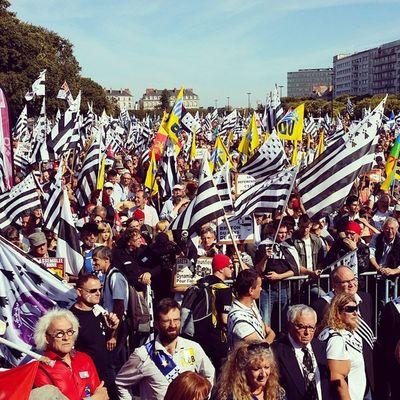 Naoned Manifestation Bretagne Gwennhadu réunification 44bzh B5 5sur5 breizhintagramer
