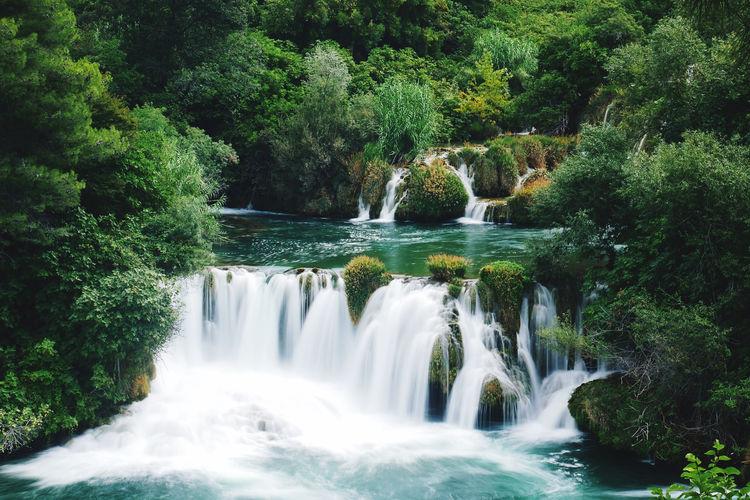 National park krka croatia