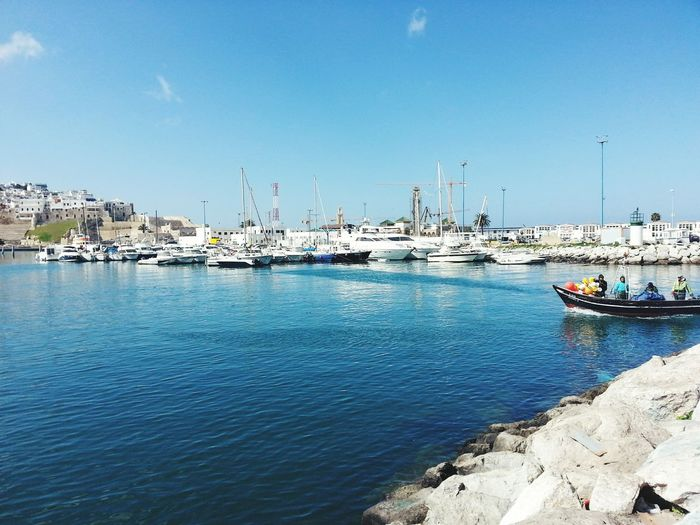 First Eyeem Photo The Places I've Been Today Morocco Tanger  Fishing Nice Day