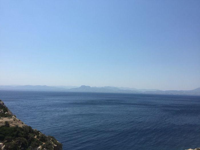 Somewhere near Corinth. (3) Greece Photos Loutraki Nature Tranquility Scenics Beauty In Nature Blue Sea Horizon Over Water