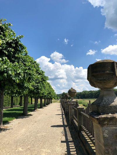 Schloss Seehof Sky Plant Tree Cloud - Sky Nature Sunlight Day No People Beauty In Nature Outdoors The Way Forward Barrier Growth