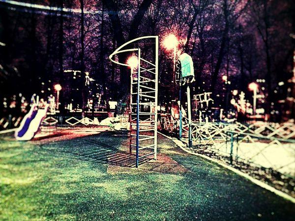 город двор Детская площадка дорогомиловский район Tree No People Playground
