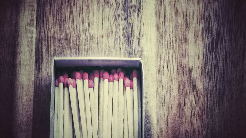 At Home Taking Photos Matches Matches Photography Matchbox Wooden No People Wood - Material Day Built Structure Architecture Close-up Indoors