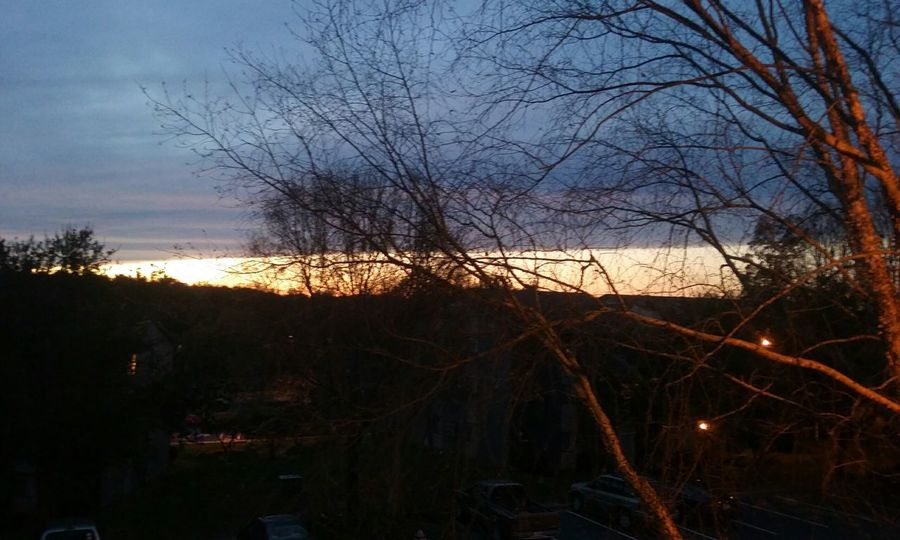 12.3.15 5:17 pm Raleigh Northcarolina Skyview Sunset Landscapeview CeBPhotography