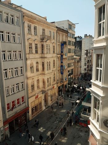 Istanbul City Istanbul Istanbul Turkey Street Photography Streetphotography Building Exterior Architecture Day Beyoğlu Streetphotographer Beyoğlu, Streetphoto_color City İstiklal Street - İstanbul/TURKEY