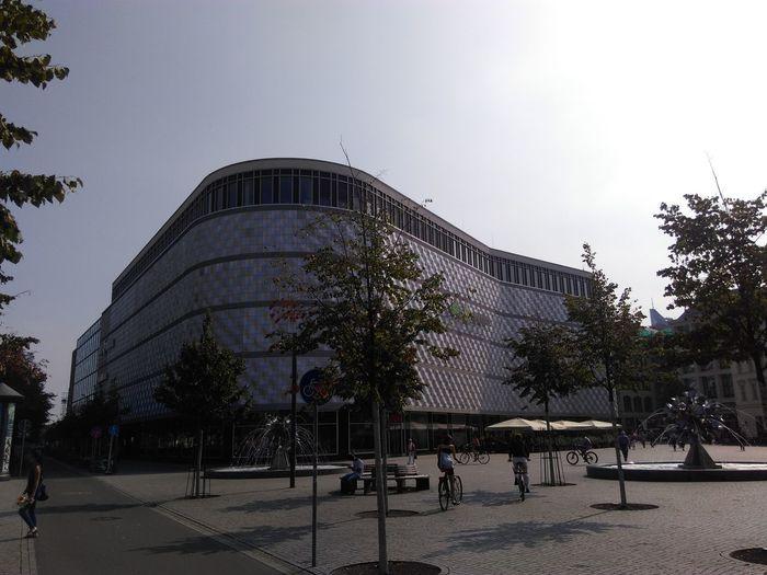 Höfe Am Brühl Leipzig Summer Sommer Germany Deutschland Sachsen Architecture City Travel Destinations Einkaufszentrum Shoping Mall Shopingcenter