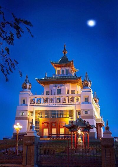 "Wonderful place! ""Om mani padme hum""🙏🏻 First Eyeem Photo Places Buddhism Elista Republic Of Kalmykia"