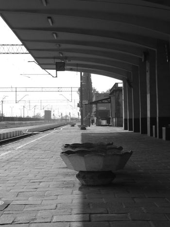 Platform Kalisz station Architecture Built Structure Edge Edge Of Light Farewell Foretime Goodbye Light And Shadow Ligt Edge Past Platform Platform Of Train Station Rail Railway Station