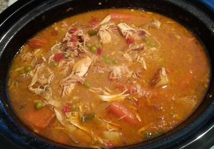 Crock Pot Crock Pot Chicken Healthy Food Recipe Stew