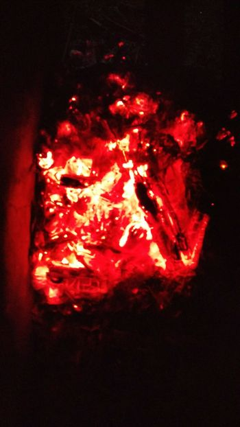 My Winter Favorites Fire Burning Coals Red