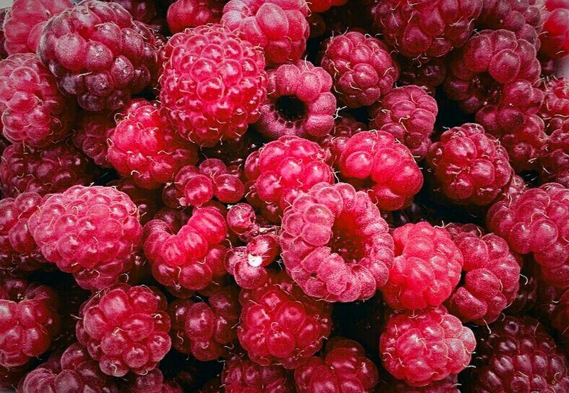 малина ягоды ягода-малина ягодамалина Berries Red Berries