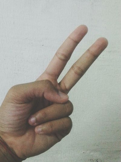 You do peace when your hand feel awkward!