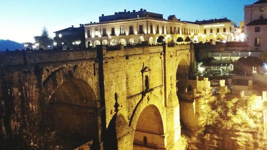 Ronda the other view. Besutiful pont Architecture Built Structure Travel Destinations History Bridge - Man Made Structure