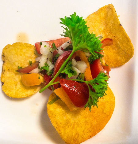Food And Drink Paint The Town Yellow Food Mexican Food Tomato Tostitos Vegetables Yellow Food Stories
