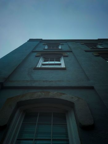 Architecture Built Structure Low Angle View Building Exterior Window Sky No People Building Day Façade Blue Outdoors