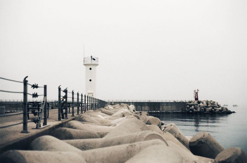 35mm Film Film Photography Canon Breakwater Lighthouse