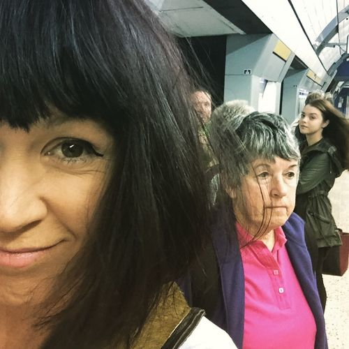 Excited to be going on the tube... So fast That's Me London Wolfe Does UK Uk Underground