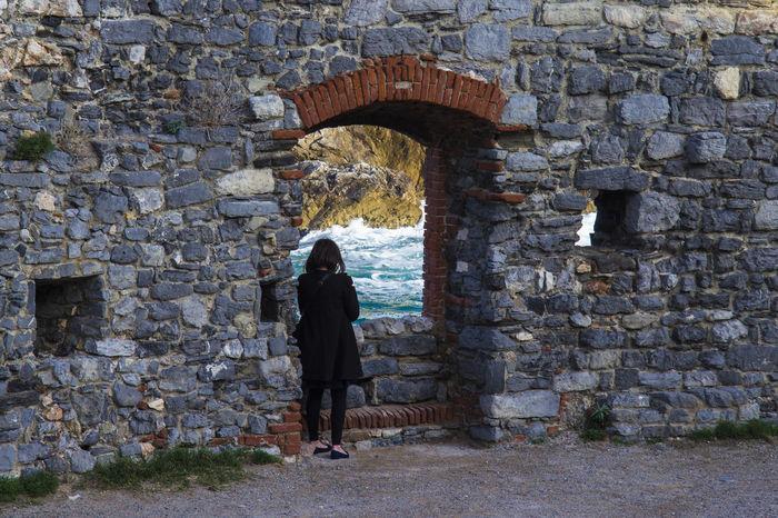 Italy Landscape Sea Canon Real People EyeEm Nature Lover Portovenere Liguria Taking Photos Window Window View