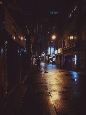 Streetphotography Street Photography Neon Light And Shadow Light Water Reflections Umbrella Tokyo Walking Around Night