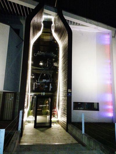 Almdudler Illuminated Architecture