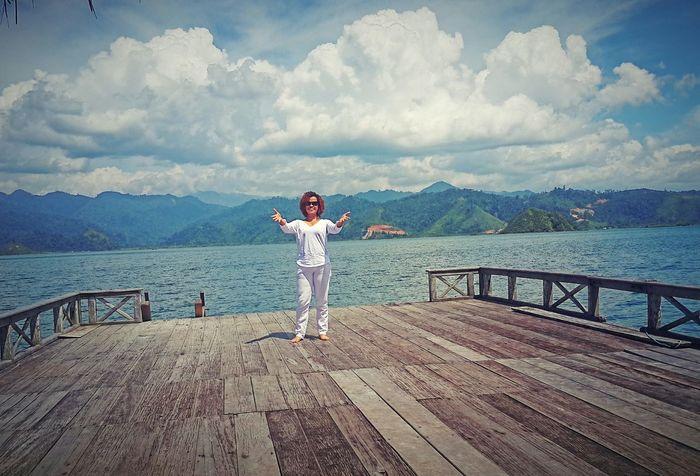 That's Me Enjoying Life Life Is A Beach Westsumatera Cubadak Paradiso Village Indonesianisland Wonderful Indonesia