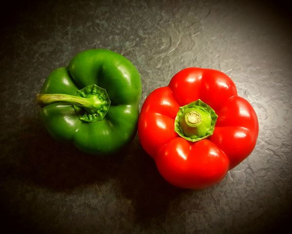 Paprica Paprika Green And Red Paprika, Red, Green, Vegetable, Chilli, Red Healthy Eating Food Indoors  Food And Drink Green Color Vegetable Freshness No People