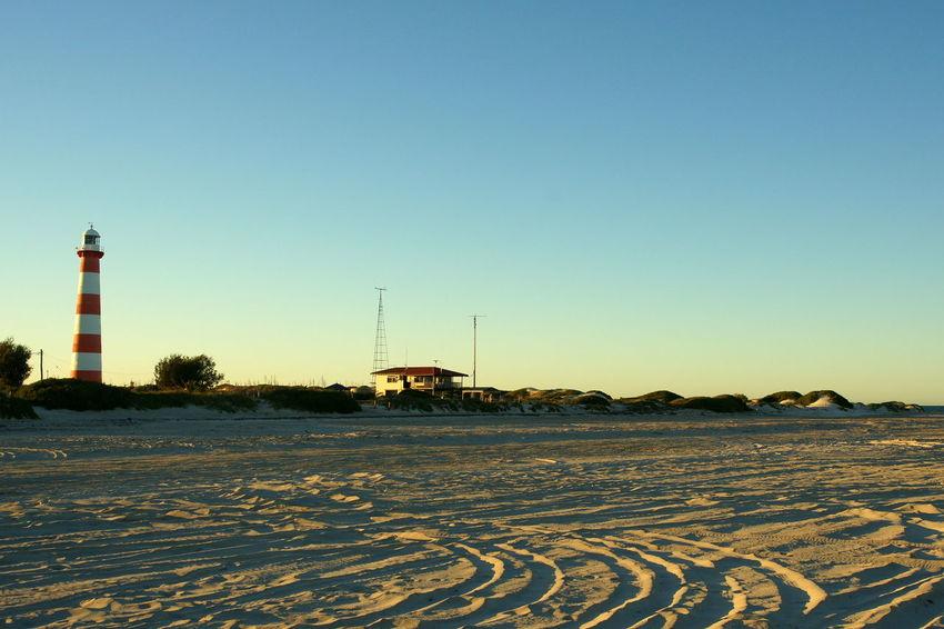 Beach Clear Sky Day Geraldton Lighthouse No People Outdoors Sky Western Australia
