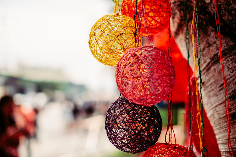 handmade light enclosure from abaca plant Close-up Hanging Red Decoration Sphere Outdoors Nature Holiday Selective Focus Christmas Decoration Pattern Christmas Ornament Light Handmade Backgrounds Object Copy Space Colorful Artisan Filipino Abaca Art And Craft Dyed Organic Strings 2018 In One Photograph It's About The Journey My Best Photo Streetwise Photography The Art Of Street Photography