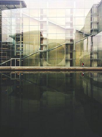 Architecture Reflection Building Exterior Waterfront Modern Berlin Berliner Ansichten Architecture Architecturelovers Building Water Reflections Berlin Mitte