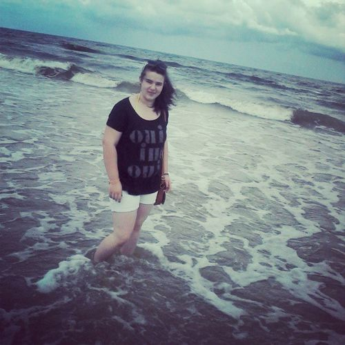 Me Sea Drugi Dzien kocham morze piekne duze fale xD