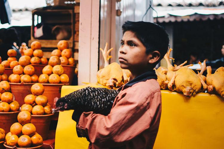Mandarine season. City Day Fruit Market Orange Color Outdoors Tangerine Town
