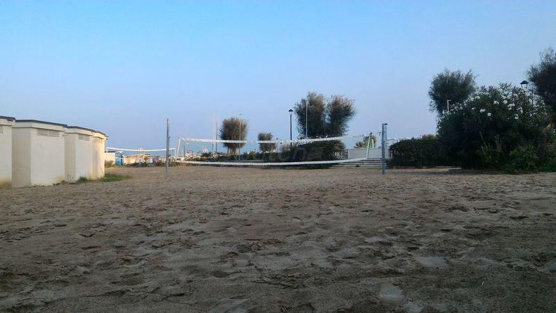 Rete Web Pallavolo Volleyball Spiaggia Beach Beachvolley Tramonto Fine Estate Summerend Breeze Romantic Brezza Romantico Sera Evening Tranquillità Quietness Mare Sea Rimini