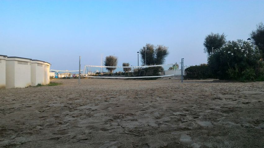 Rete Web Pallavolo Volleyball Spiaggia Beach Beachvolley Tramonto Fine Estate Summerend Breeze Romantic Brezza Romantico Sera Evening Tranquillità Quietness Mare Sea Rimini
