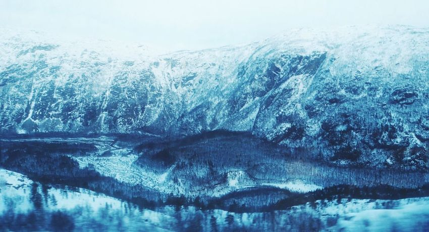 Water Cold Temperature Nature Beauty In Nature Tranquil Scene Winter Frosted Glass Mountain Forest Winter Snow Norway