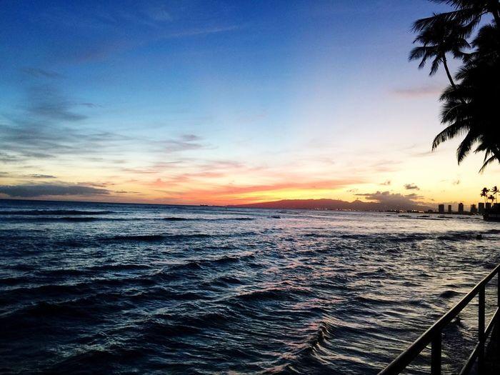 Sunset, Islandlife Hawaii Luckywelivehawaii