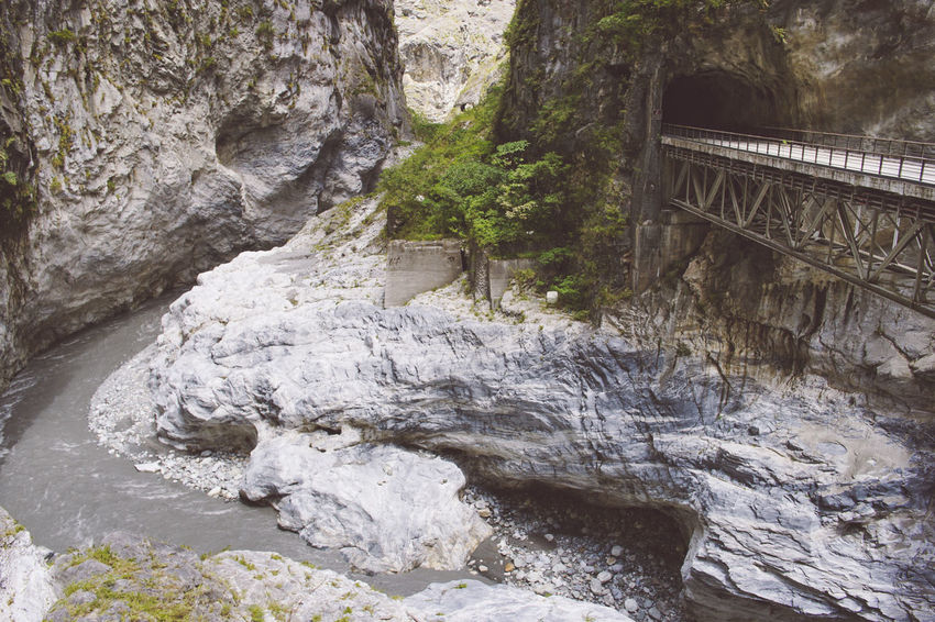 Hualien - Taroko National Park Taiwan Taroko National Park Architecture Beauty In Nature Bridge - Man Made Structure Connection Day Footbridge Hualien Motion Nature No People Outdoors River Rock - Object Scenics Tree Water Waterfall