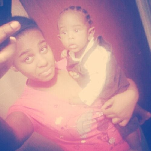 me && my bby cous!