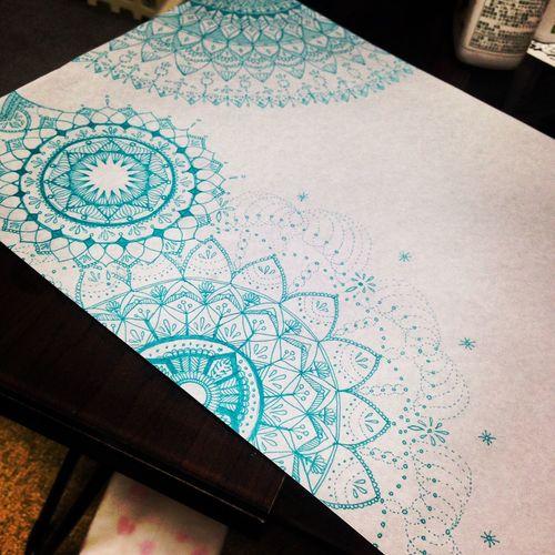 Free Hand 曼荼羅 マンダラ Mandala Mandalas Art My Art My Drowing Drawing YohkoAmaterraArt Create