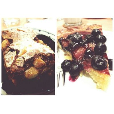 Tried the blueberry pie, got a Brownie for free. Totally worth it:D. ButterStudio Nomnom Sgcafe